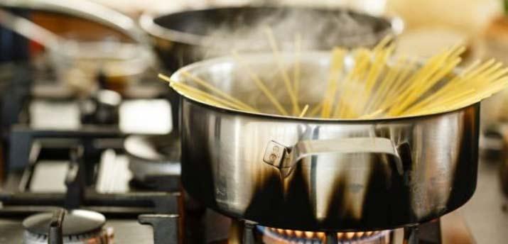 cooking pasta until al dente