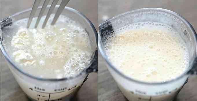 making flour slurry