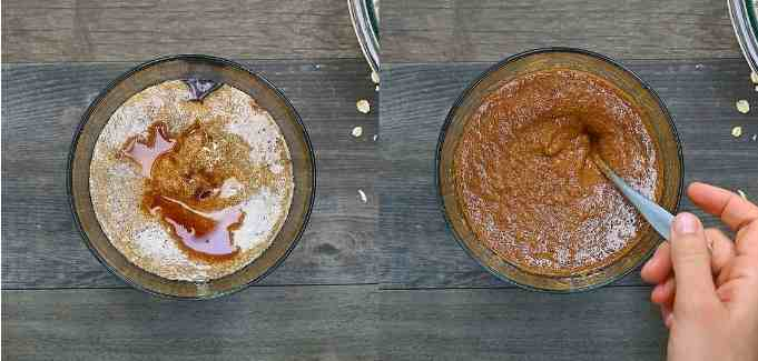 mixing wet ingredients