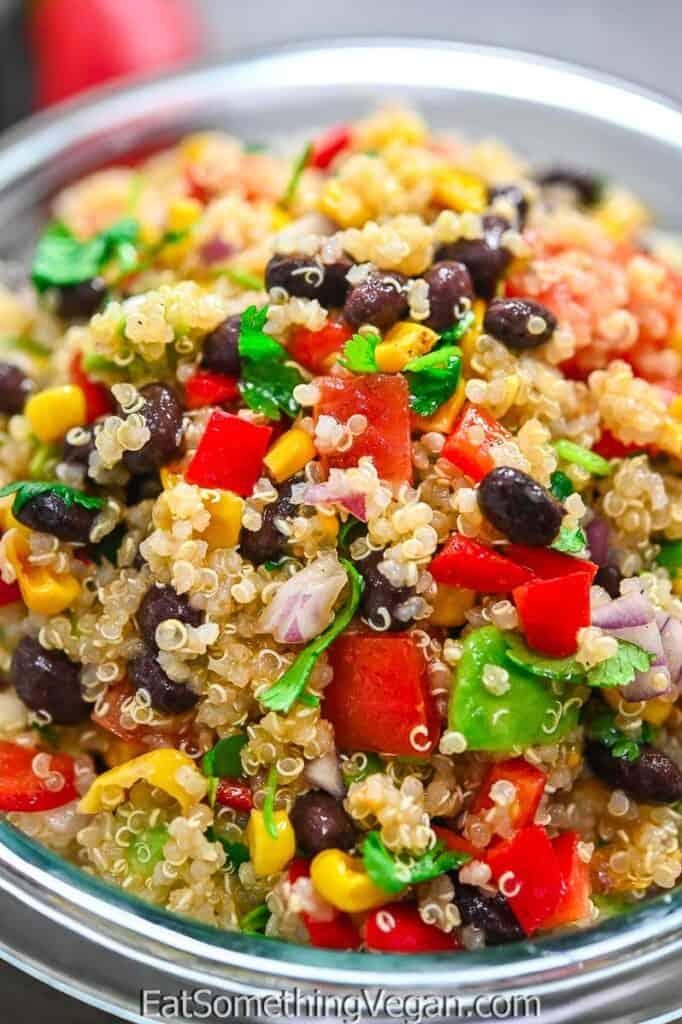 Mexican Quinoa Salad in a bowl