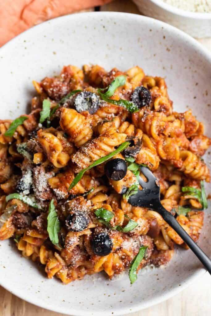 Vegan Instant Pot Italian Pasta
