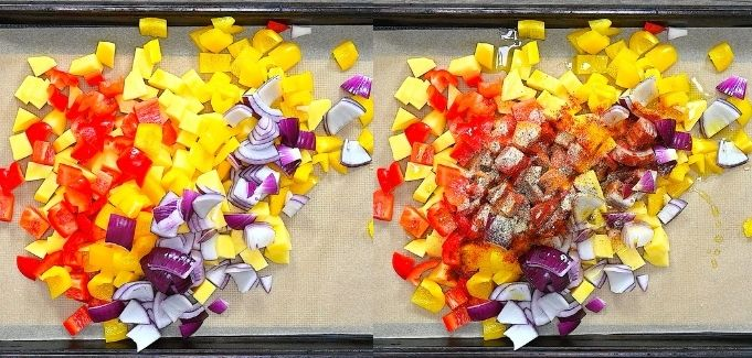 potatoes on a tray